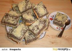 Makové řezy de luxe recept - TopRecepty.cz French Toast, Dairy, Cheese, Breakfast, Food, Lush, Breakfast Cafe, Essen, Yemek