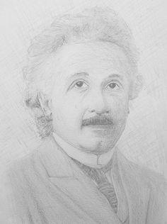 Albert Einstein by BuenoNando on deviantART