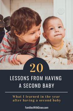Having a second baby is exciting -- and overwhelming! During my first year as a mom of two, I learned so many lessons. #Baby #SecondBaby #HavingASecondBaby #MomLife #MomBlog #Parenting #Mama #MamaOfTwo Gentle Parenting, Parenting 101, First Time Parents, Second Baby, New Dads, Raising Kids, Growth Mindset, Mom Blogs, Best Mom