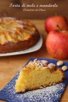 Torta di mele e mandorle  CuciniAmo con Chicca