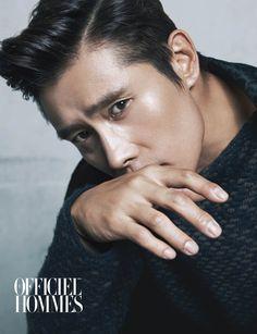 Lee Byung Hun - L'Officiel Hommes Magazine September Issue '14