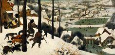 Δέκα μεγάλοι ζωγράφοι αιχμαλωτίζουν το χειμώνα
