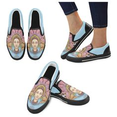 Mood Static Kids Slip-on Canvas Shoes