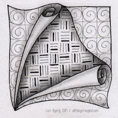 one zentangle a day: day 37 © Lori Byerly