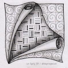 één zentangle per dag: dag 37 © Lori Byerly Tangle Doodle, Tangle Art, Zen Doodle, Doodle Art, Zentangle Drawings, Doodles Zentangles, Art Drawings Sketches, Doodle Patterns, Zentangle Patterns