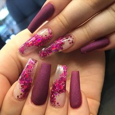 In seek out some nail styles and some ideas for your nails? Here is our list of must-try coffin acrylic nails for stylish women. Summer Acrylic Nails, Best Acrylic Nails, Acrylic Nail Designs, Nail Art Designs, Nails Design, Summer Nails, Nail Swag, Nagel Hacks, Gorgeous Nails