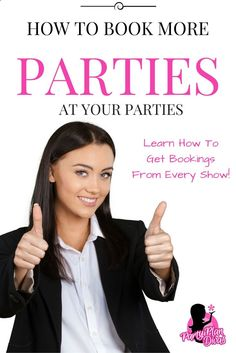 A common question asked in the direct sales business is How to book home parties? There are quite a few ways you can improve your party bookings.