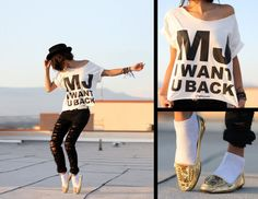 Michael Jackson inspired outfit / clothing