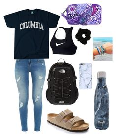 Vera bradley, columbia, nike, s'well, forever the north face and b Cute Lazy Outfits, Teenage Girl Outfits, Teen Fashion Outfits, Look Fashion, Outfits For Teens, Fall Outfits, Casual Preppy Outfits, Summer Outfits, Moscow