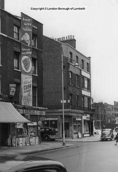 Hercules Road, Lambeth 1952 South London, New South, Old London, Waterloo Station, British Things, My Family History, London Photos, Brixton, Hercules
