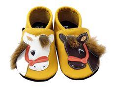 Krabbelschuhe Pferd Horse Leather Shoes Dawanda