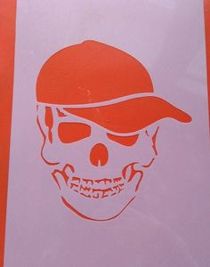 Skull Skull tattoo Stencil wall Pictures collage Graphic