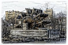 Image result for water wheel norway