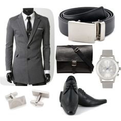 """""""The Steel Belt... let's get down to business!"""" by kristinmadsen on Polyvore"""