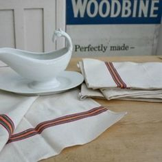 French Linen Tea Towels - The Hoarde
