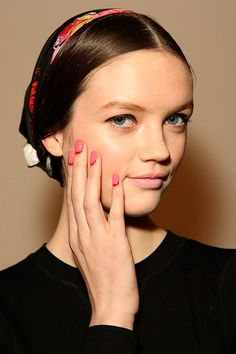 The Best Manicures on the Runway #nailtrends #2014nails #naildesigns