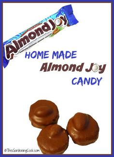 Home made Almond Joy Candy. Super easy to make and so delicous