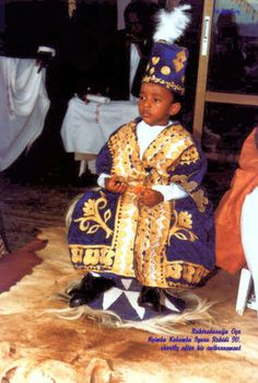 YOUNGEST RULING MONARCH IN WORLD - When a 3 and-a-half-year-old King ascended the royal dais to become the undisputed titular head of the 180-year Toro Kingdom, those who witnessed the occasion couldn't help but marvel at the extent to which culture can go. King Oyo Nyimba Kabamba Iguru Rukidi IV, to give him his full title, has since his enthronement entered the Guinness Book of records as the youngest reigning king in the world.