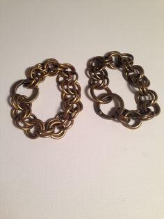 Rustic Gold Bracelets