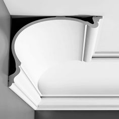, Crown Molding Height: in., Crown Molding Projection: in., Crown Molding Face: in. Cornice Moulding, Wall Molding, Moldings And Trim, Crown Moldings, Ceiling Detail, Ceiling Design, Cornices Ceiling, Vinyl Window Trim, Orac Decor