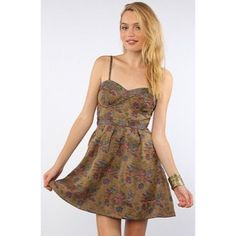 Clearance Free People Foiled Tapestry Dress