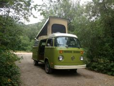 Our home for 28 days, our groovy VW camper van, can now be yours! Make your own memories!   1979 VW Volkswagen Westfalia camper Van Restored Groovy Green | Find it on eBay