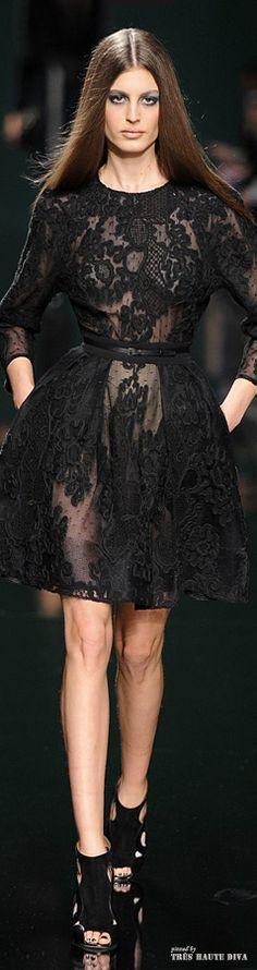 #Paris Fashion Week Elie Saab Fall/Winter 2014 RTW LBV