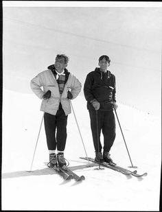 Berstein likes to go skiing