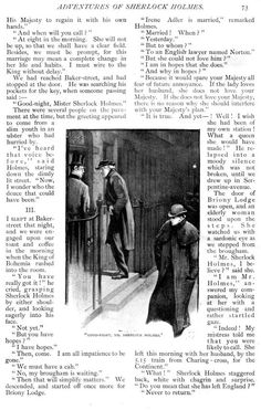 Sidney Paget - A Scandal in Bohemia (9) - The Adventures of Sherlock Holmes - Strand Magazine - 1891/2