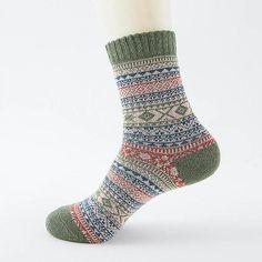 8efde1202720 LNRRABC Winter Thick Warm Stripe Wool Socks Casual Calcetines Hombre Sock  Business Male Socks
