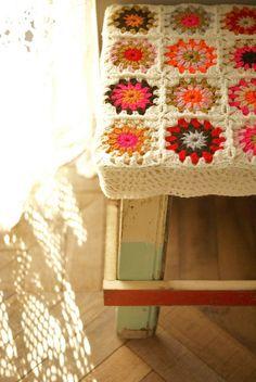 wood and wool stool. $108.00, via Etsy.