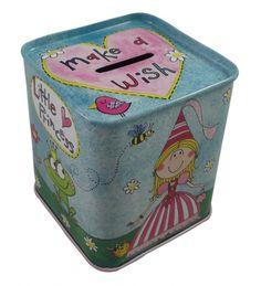 Rachel Ellen Princess Money Box