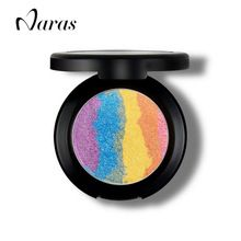Rainbow Highlighter Makeup Bronzer For Face Highlighter Cosmetic  Palette Shimmer Iluminador Maquiagem Blusher Eyeshadow Prism(China (Mainland))