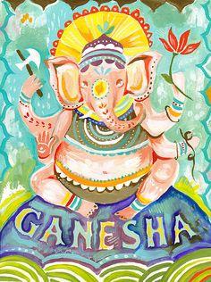 Ganesha by Katie Daisy