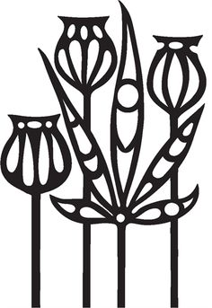 Funky Foliage Collage Clear Stamp - As Seen On TV
