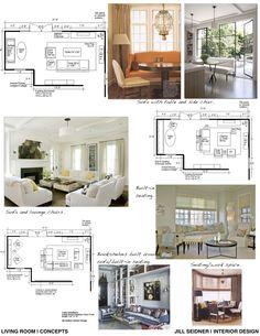 jill seidner | interior design: concept boards | home design