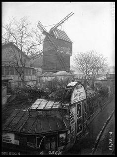 El Moulin de la Galette en 1923 | Flickr - Photo Sharing!