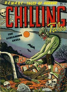 Chilling Tales, Pre-code horror comics
