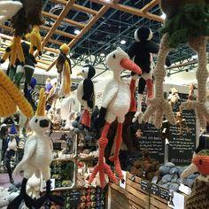 Toft alpaca crochet birds