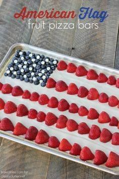 American Flag Fruit American Flag Fruit Pizza that is perfect...  American Flag Fruit American Flag Fruit Pizza that is perfect for the season! It not only tastes good it looks amazing! Click for recipe Recipe : ift.tt/1hGiZgA And My Pinteresting Life | Recipes, Desserts, DIY, Healthy snacks, Cooking tips, Clean eating, ,home dec  ift.tt/2v8iUYW