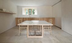 John Pawson designs his own Home Farm in the Cotswolds Richard Meier, Shigeru Ban, Steven Holl, Peter Zumthor, Daniel Libeskind, Tadao Ando, Carlo Scarpa, Lebbeus Woods, Zaha Hadid Architects