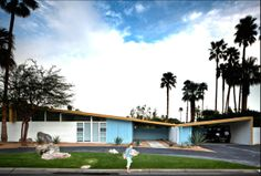 1957 Twin Palms Butterflies | Architect: William Krisel for Palmer & Krisel | Palm Springs, CA