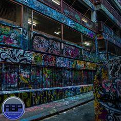 Hosier Lane in Melbourne - an awesome graffiti alley!  #Graffiti #Melbourne #Australia #Art