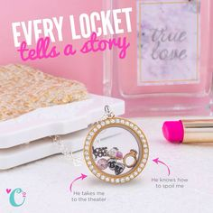 What would your locket say?! Tell your story with Origami Owl! #origamiowl #locket #love