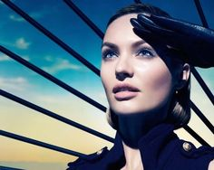 Candice Swanepoel Wows in New Max Factor Campaign http://www.annapavia.com/