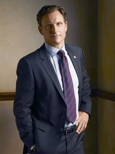 Tony Goldwyn as President Fitzgerald Grant on Scandal