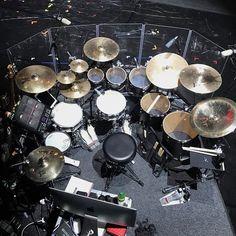 "4,081 Likes, 12 Comments - Vater Drumsticks (@vaterdrumsticks) on Instagram: ""A look at #VaterDrumsticks Artist @mrbenjaminstone #drumkit on tour with @boybands_forever_live…"""