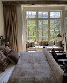 Room Ideas Bedroom, Home Bedroom, Bedroom Decor, Dream Apartment, Beautiful Bedrooms, My Dream Home, Ideal Home, House Design, Interior Design