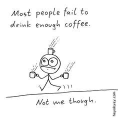 Coffee. Hey ok yay? | #caffeine #comic #humor #heyokyay