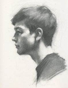 Charcoal Drawing - Jeff Haines